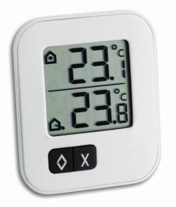 Digitales Min./Max. Thermometer mit Aussensensor MOXX