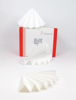 Filtrierpapiere 595, qualitativ, Faltenfilter