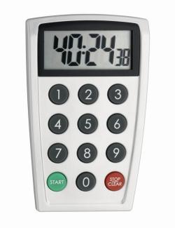 Elektronischer Timer und Stoppuhr, direkte Zahleneingabe