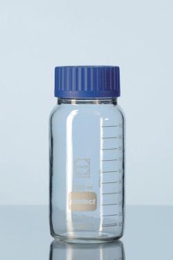 Weithalslaborflaschen, GLS 80® protect, DURAN®, mit Schraubverschluss