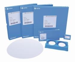 Glasfaser Filter Typ GF/A, Rundfilter und Bogen