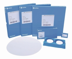 Glasfaser Filter Typ GF/F, Rundfilter und Bogen