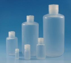 Enghalsflaschen Typ 2006, mit Schraubverschluss, PP