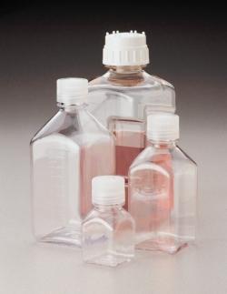 Nährmedienflaschen Nalgene™ Typ 2015, PC, mit Schraubverschluss, PP