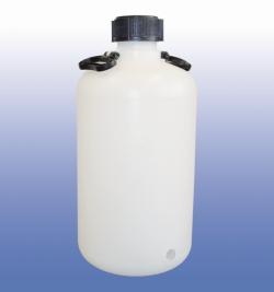 LLG-Ballonflasche, Enghals, HDPE