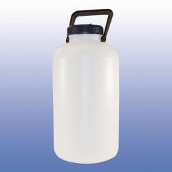 LLG-Ballonflasche, Weithals, HDPE