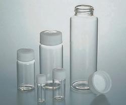 Schraubgewindeflasche, Borosilikatglas, sterilisiert