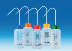 Sicherheitsspritzflaschen VITsafe™ mit Aufdruck, Weithals, PP/LDPE
