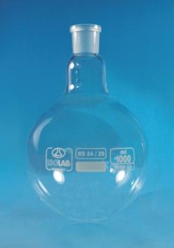 Rundkolben mit Normschliff, Borosilikatglas 3.3