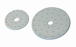 LLG-Exsikkator Platten, Porzellan