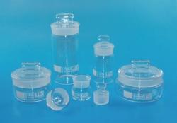 LLG-Wägegläser mit NS-Deckel, Borosilikatglas 3.3