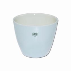 LLG-Porzellan Schmelztiegel, mittelhoch, DIN 12904