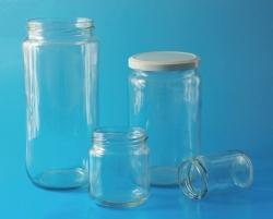 LLG-Weithalsgläser, Glas