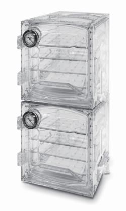 """LLG-Vakuum-Exsikkatorschrank, Polycarbonat, kubische Form, """"Heavy Duty"""""""