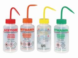 LLG-Sicherheitsspritzflaschen, mit Überdruckventil, LDPE