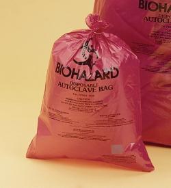 Entsorgungsbeutel, Biohazard, extra stark, 50μm